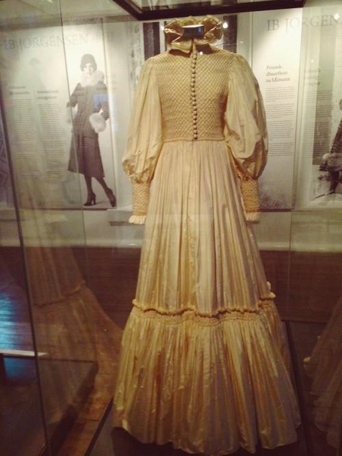 Wedding Dress by Ib Jorgensen at National museum of Ireland!