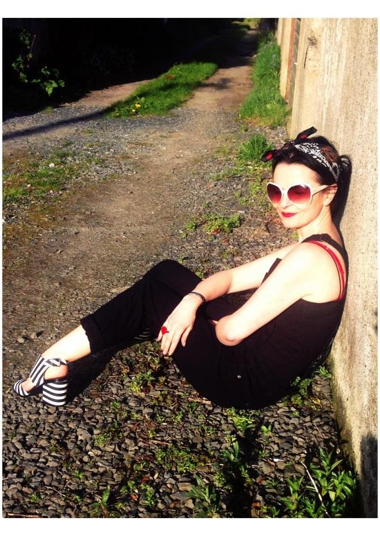 Sunny Summer Denim Day! Ah Bliss!