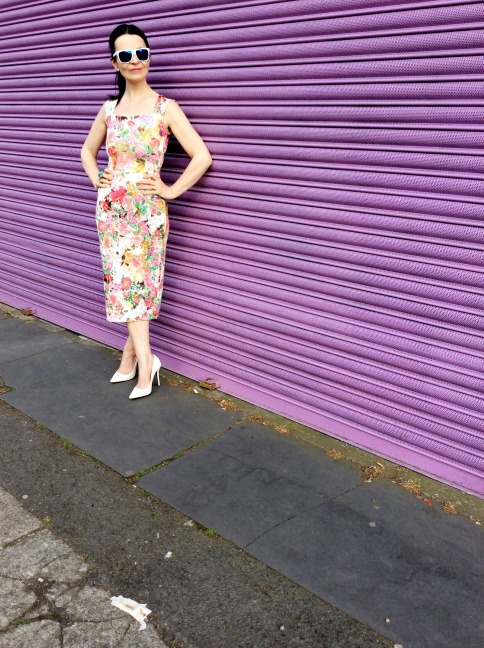 Modern Fifties Style Dress Wiggle Dress!