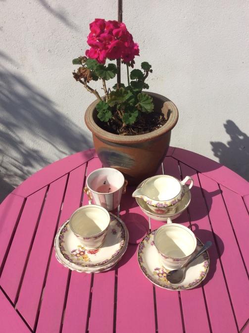 Vintage China Tea Set.